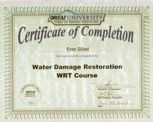 Water Damage Restoration WRT